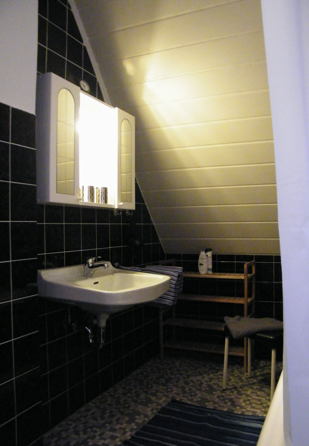 Waschplatz im Bad