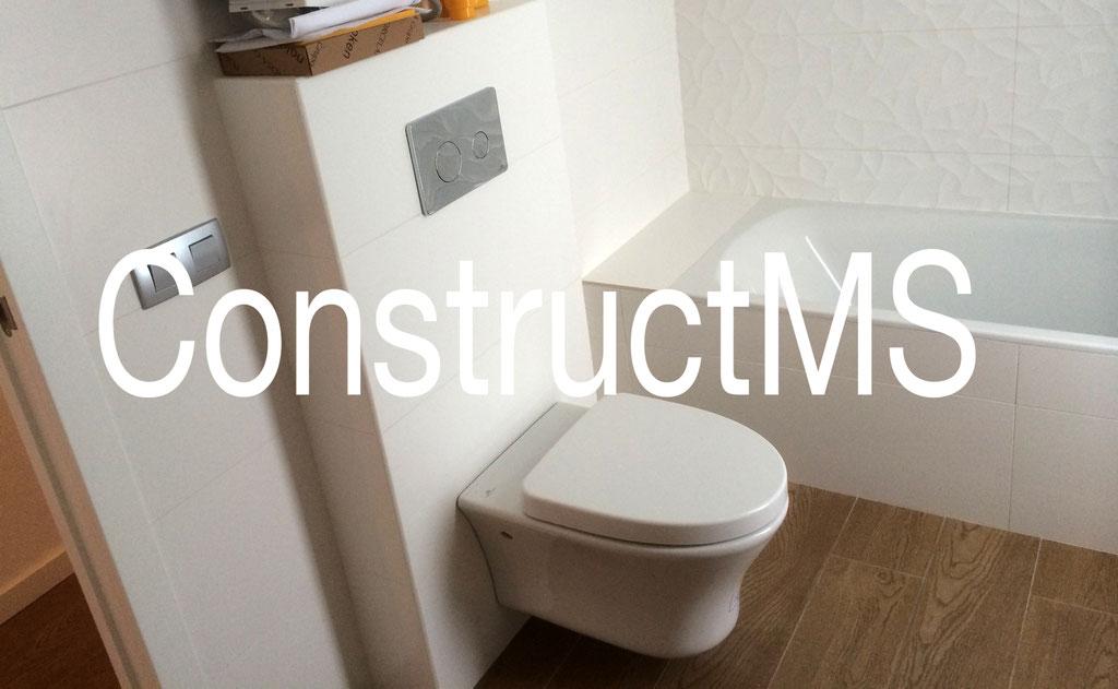 constructms reformas rehabilitacion baño lavabo diseño