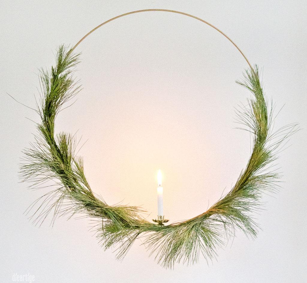 dieartigeBLOG - Simpel, schlicht, pur & schön; Dekoidee, Weihnachten, Advent, Winter