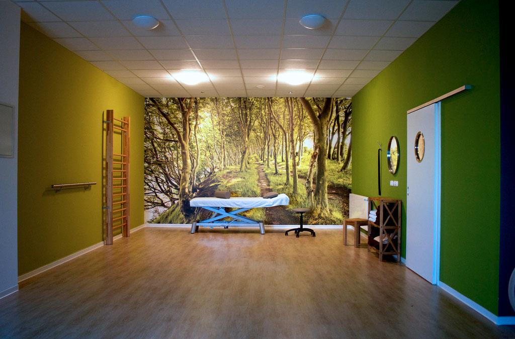 Sportraum | motivierende Aussicht + weitere Behandlungsmöglichkeit