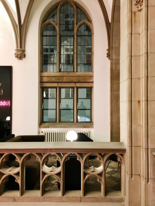 Gewölbe im THE QVEST in Köln