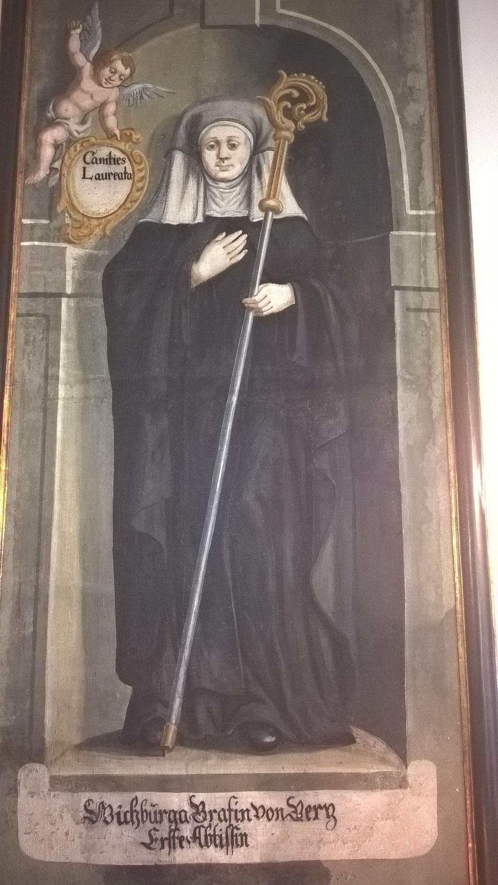 Wickburga von Görz - die erste Äbtissin von Sonnenburg © kulturverein bruneck