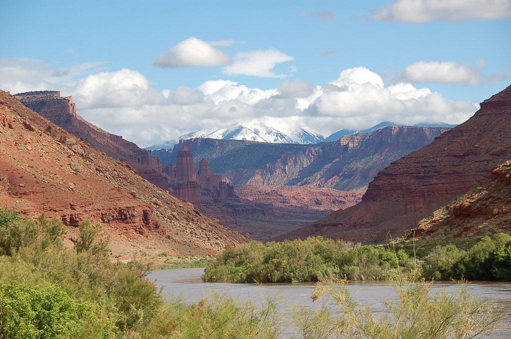 Rives du fleuve Colorado, entre Utah et Colorado