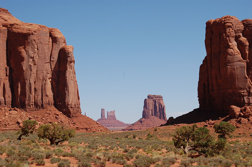 Monument Valley - Arizona et Utah