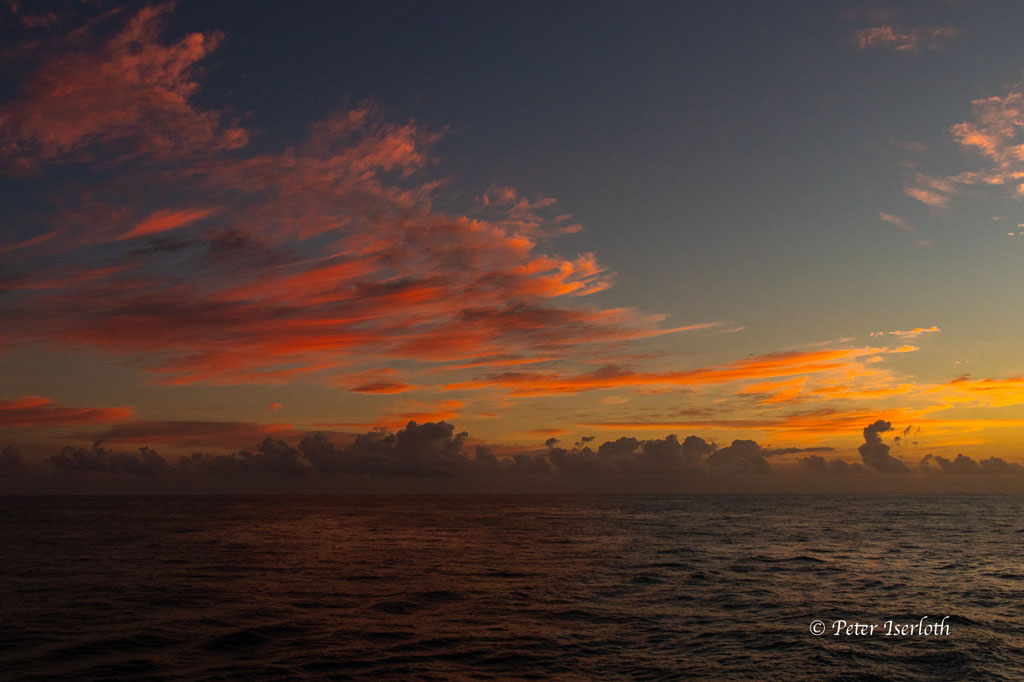 ein Morgen auf dem Atlantik