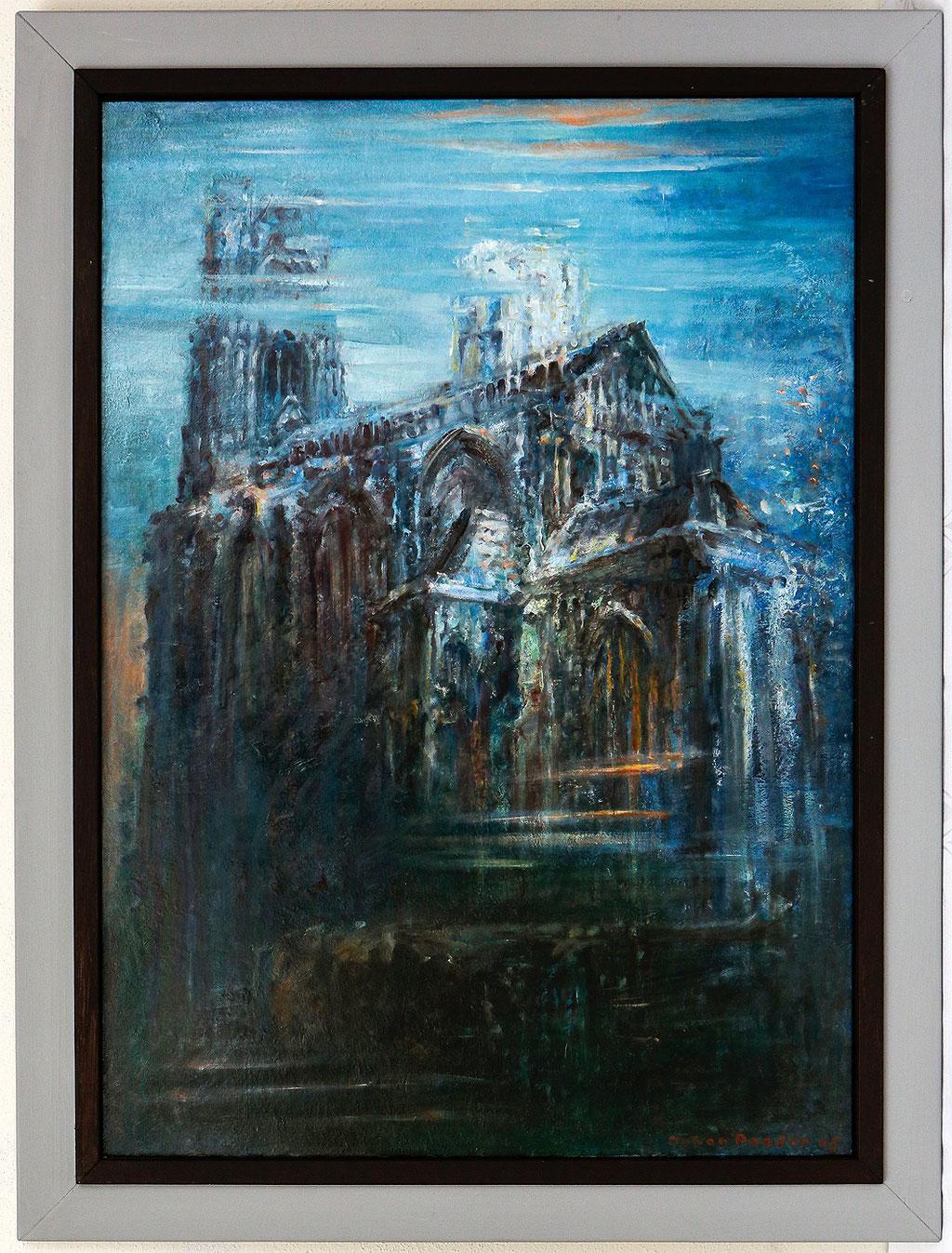 La Cathédrale Engloutie, olieverf