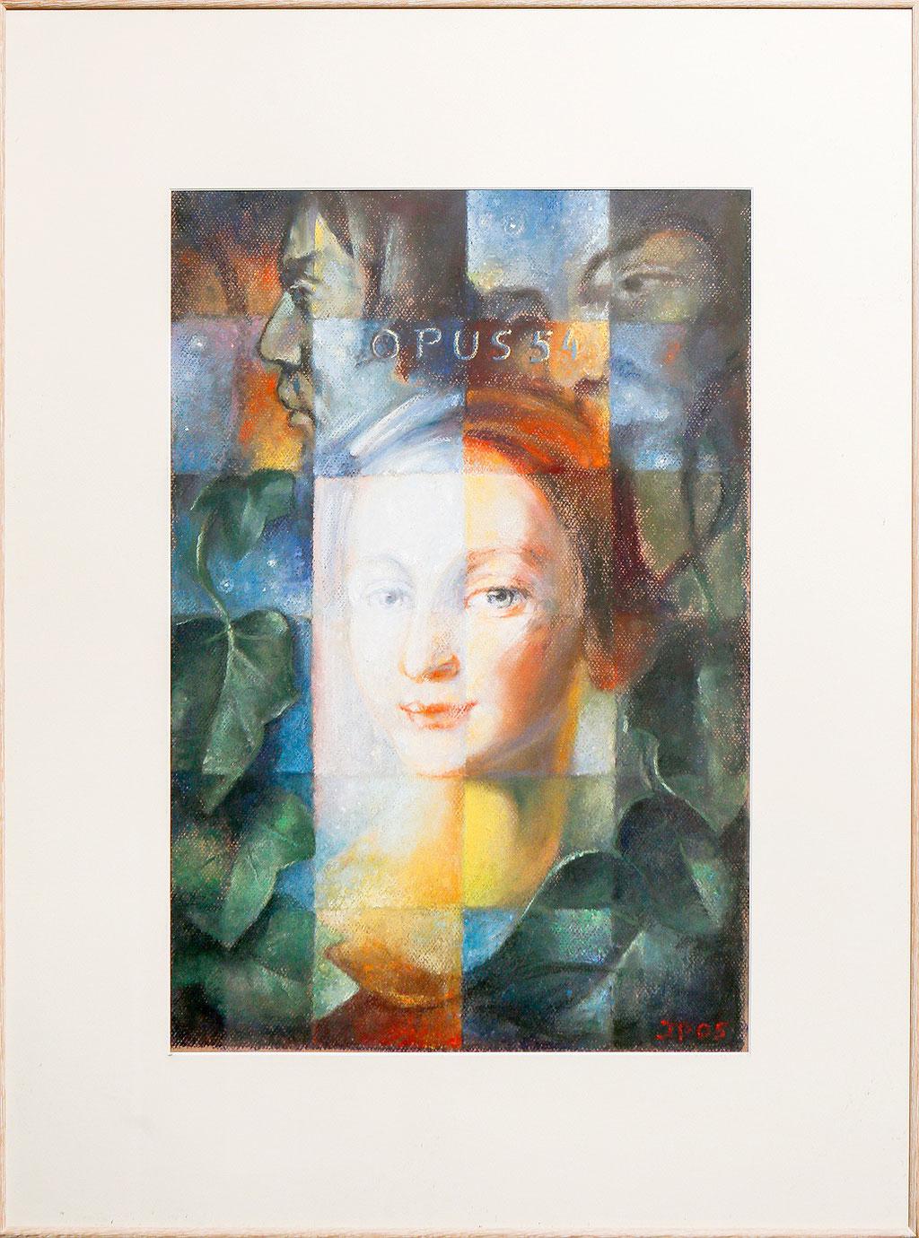 Clara Schumann, pastel