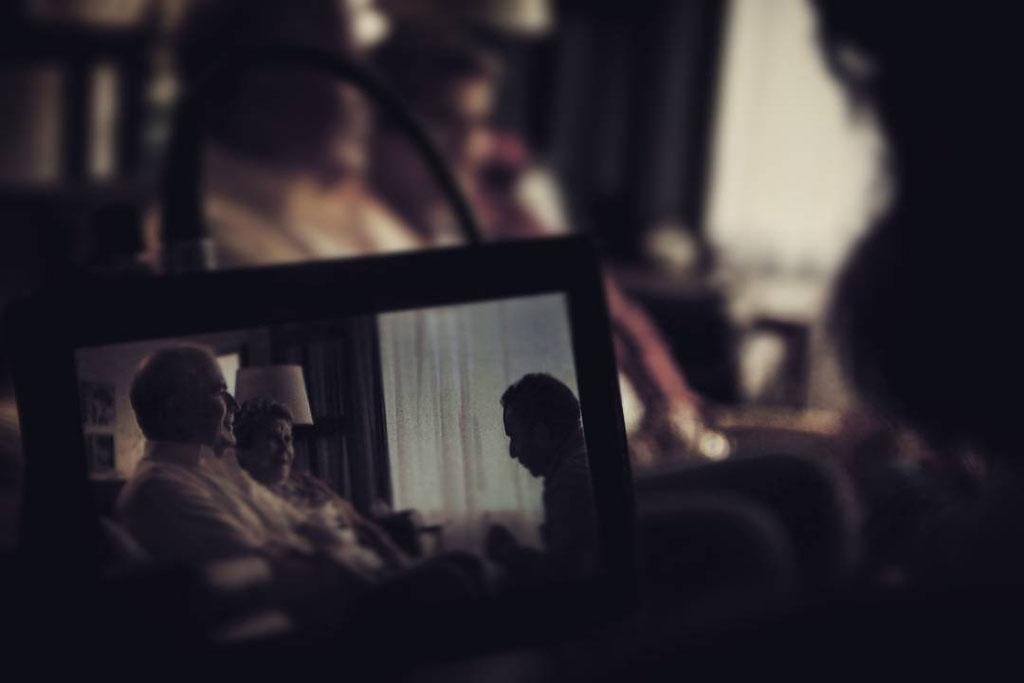 Fotografía detras de cámara. Comercial TV-CoProd. Nosotros Films