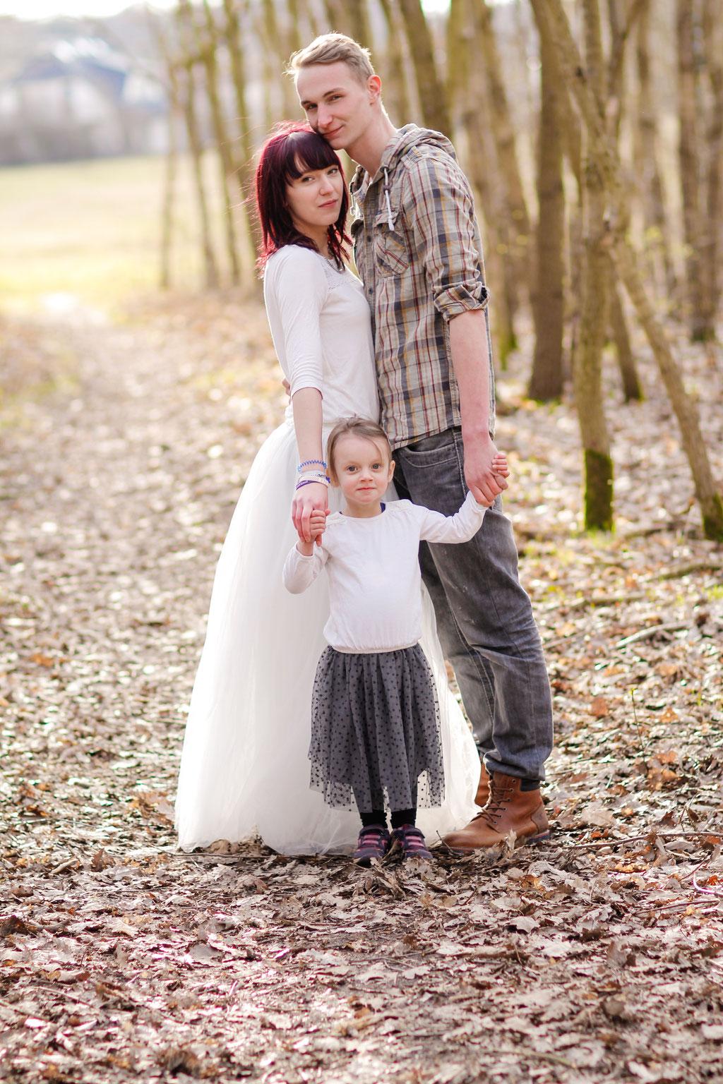 Familien| Tüllrock| Wald| Neubrandenburg| Hendrikje Richert Fotografie
