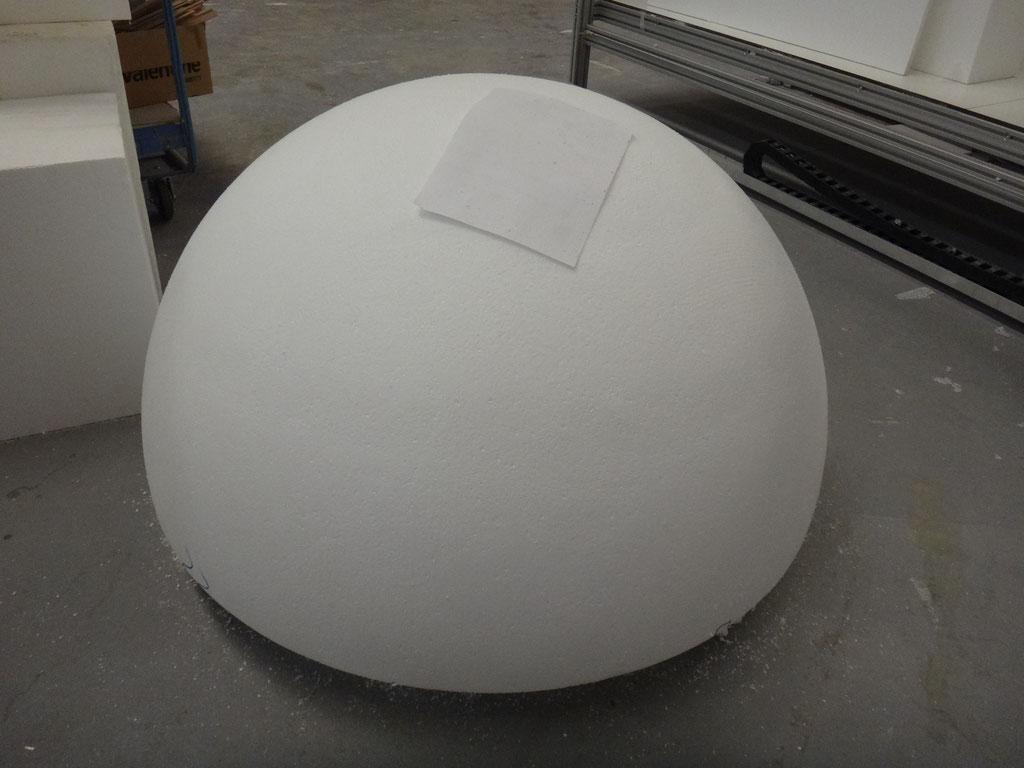 Semiesfera 110 cm de diametro