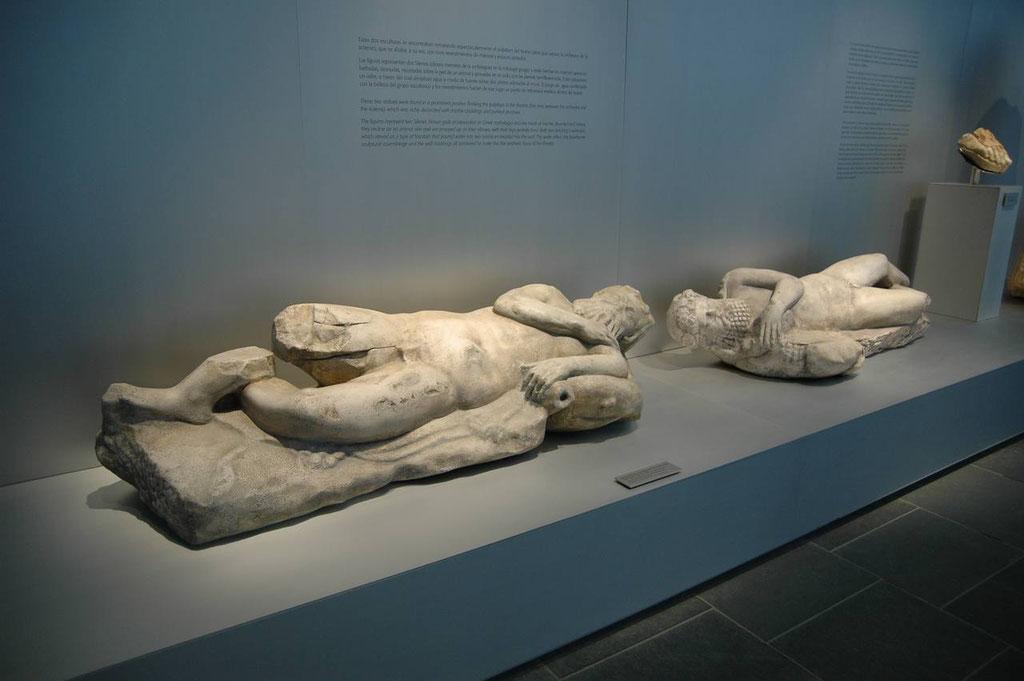 Replicas en el Museo Romano de Baelo Claudia
