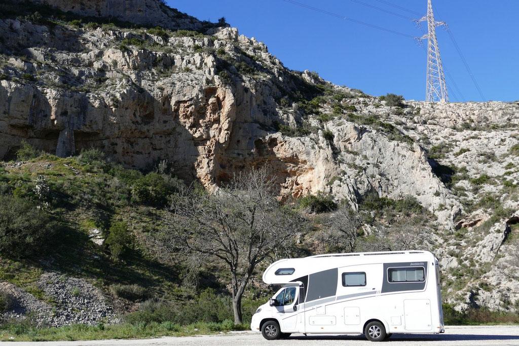 Im Gebirge zwwischen Denia und Calpe