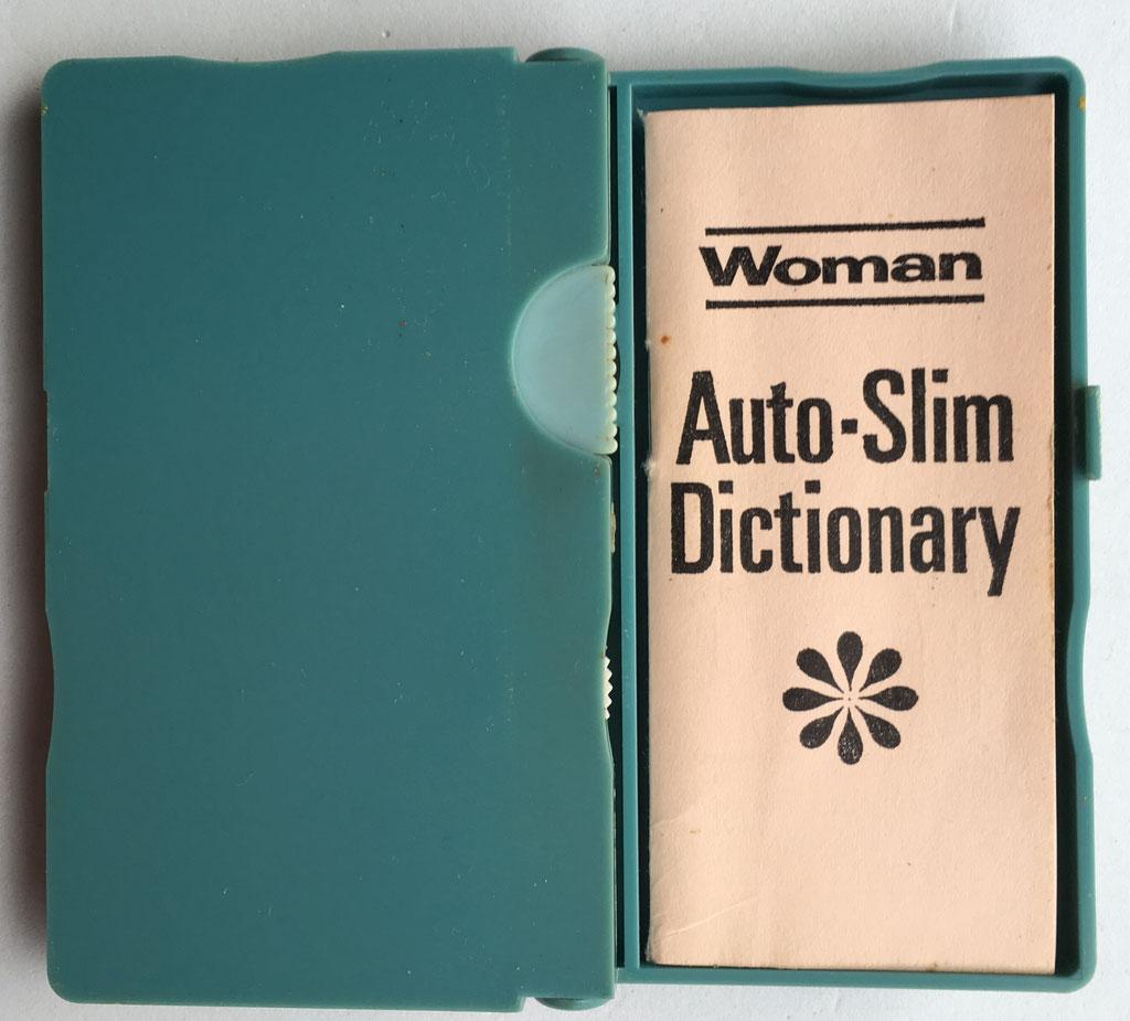 Instrucciones  y diccionario Woman AUTO-SLIM
