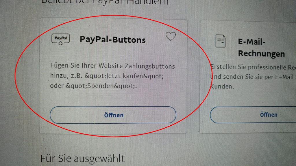 Kostenloser Onlineshop - Anleitung Bild 2