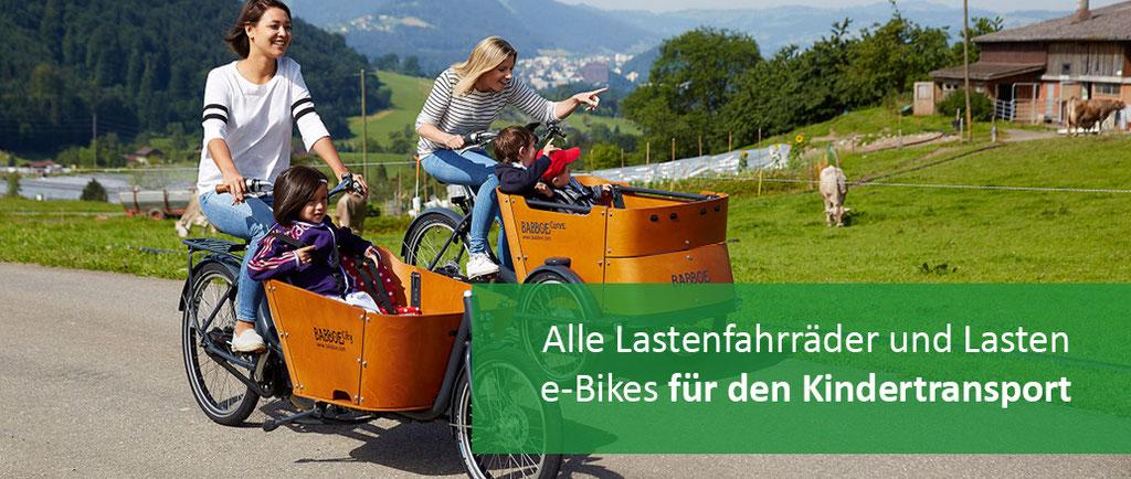 Lastenräder für den Kindertransport