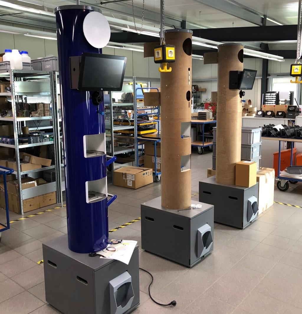 Wienss Innenausbau GmbH - Serienfertigung von Serien und Kleinserien in der CNC Schreinerei. - Photobooth 2.0 - Serie