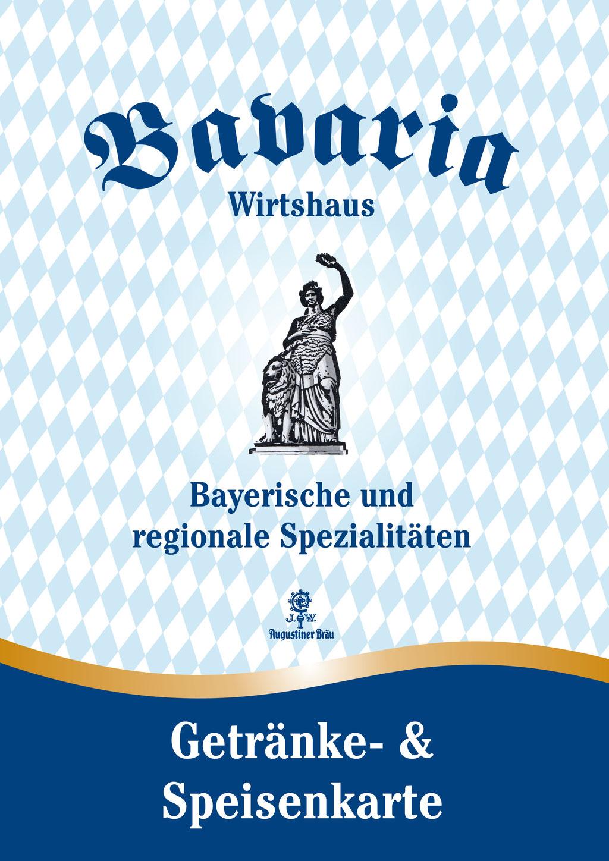Bavaria Wirtshaus Restaurant Frankenberg Eder Speisekarte