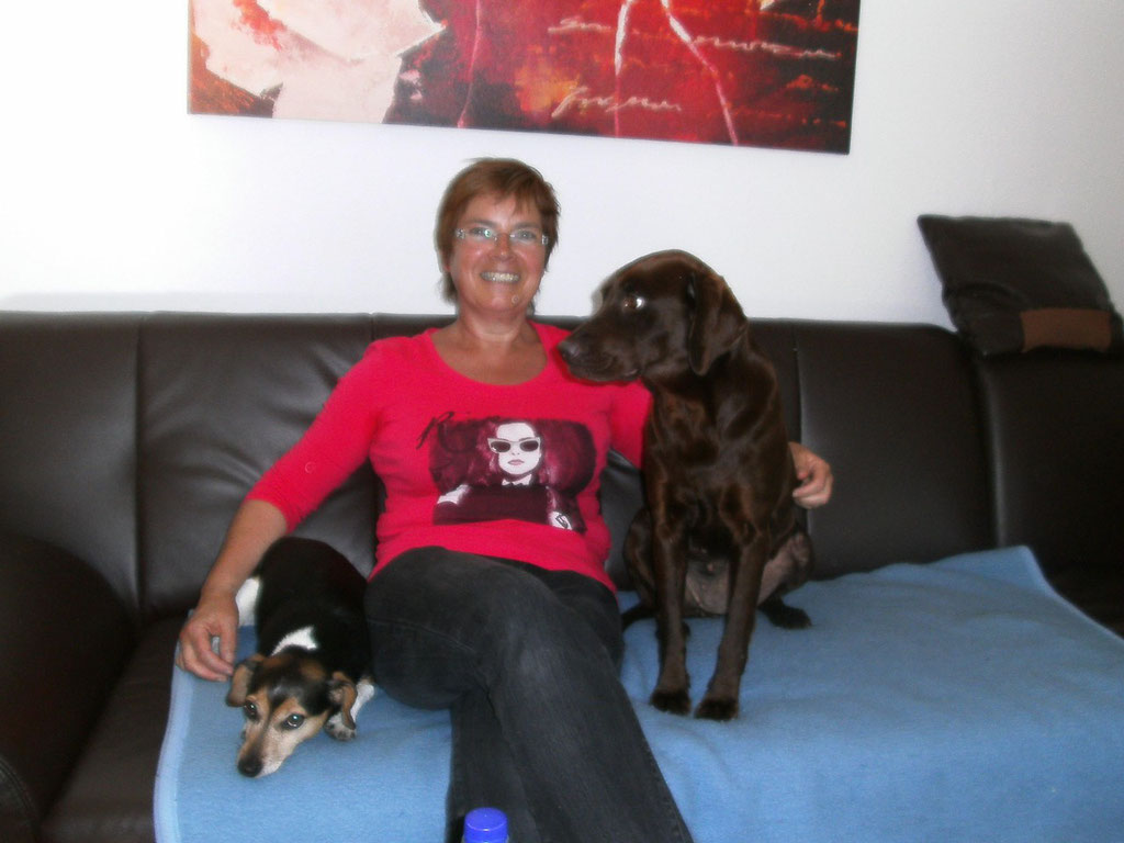 Wanda (rechts)