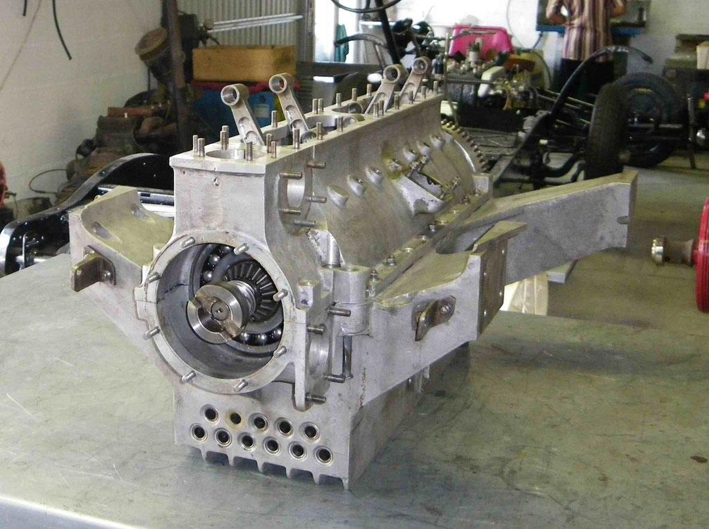 Resturation de moteur Bugatti