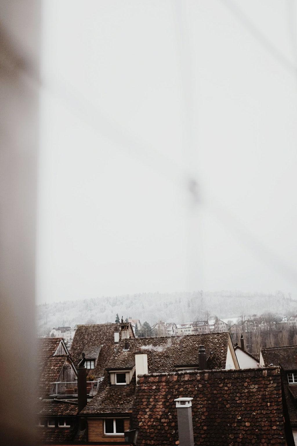 Ein Blick auf Schaffhausens Altstadt