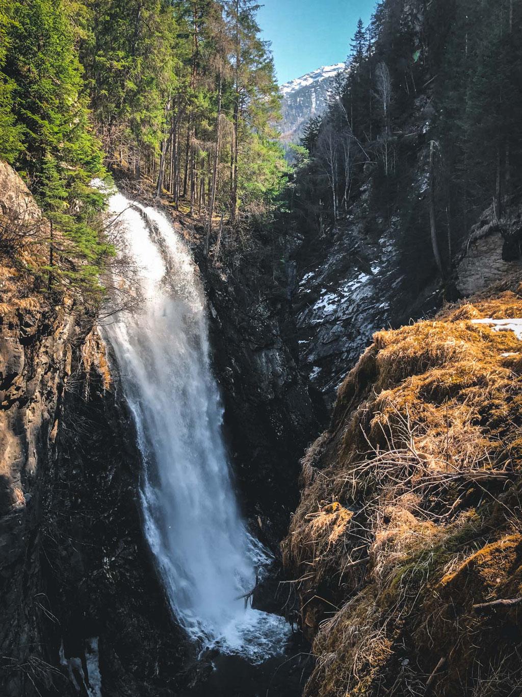 Toblburg, Reinbach Wasserfälle Wasserfall - Sand in Taufers - Ahrntal - Südtirol