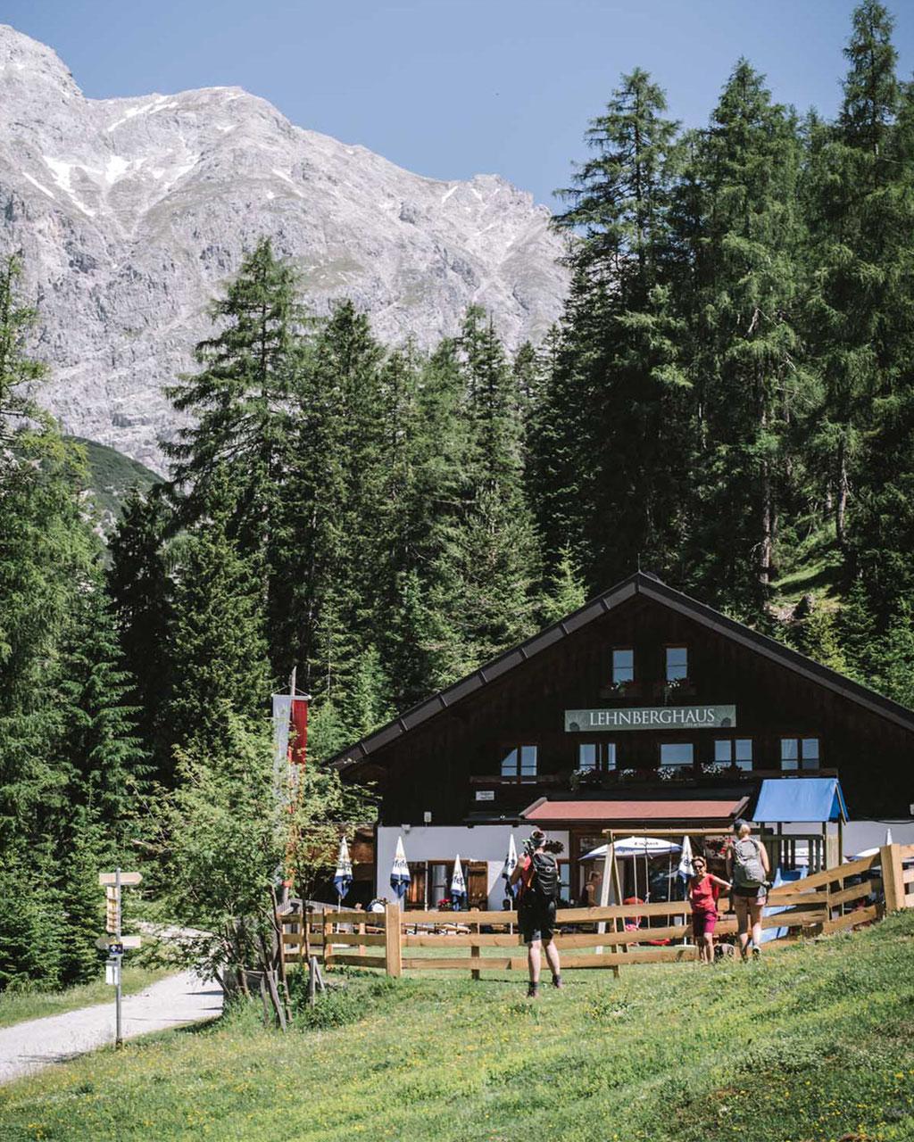 Innsbrucktrek: Mieminger Plateau, Lehnberghaus, Lacke