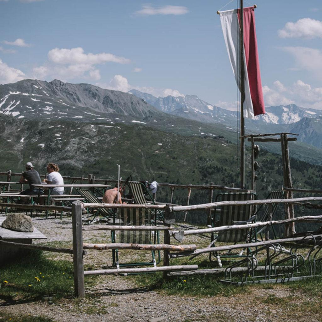 Innsbrucktrek - Weitwanderung, Patscherkofel - Gipfelstube