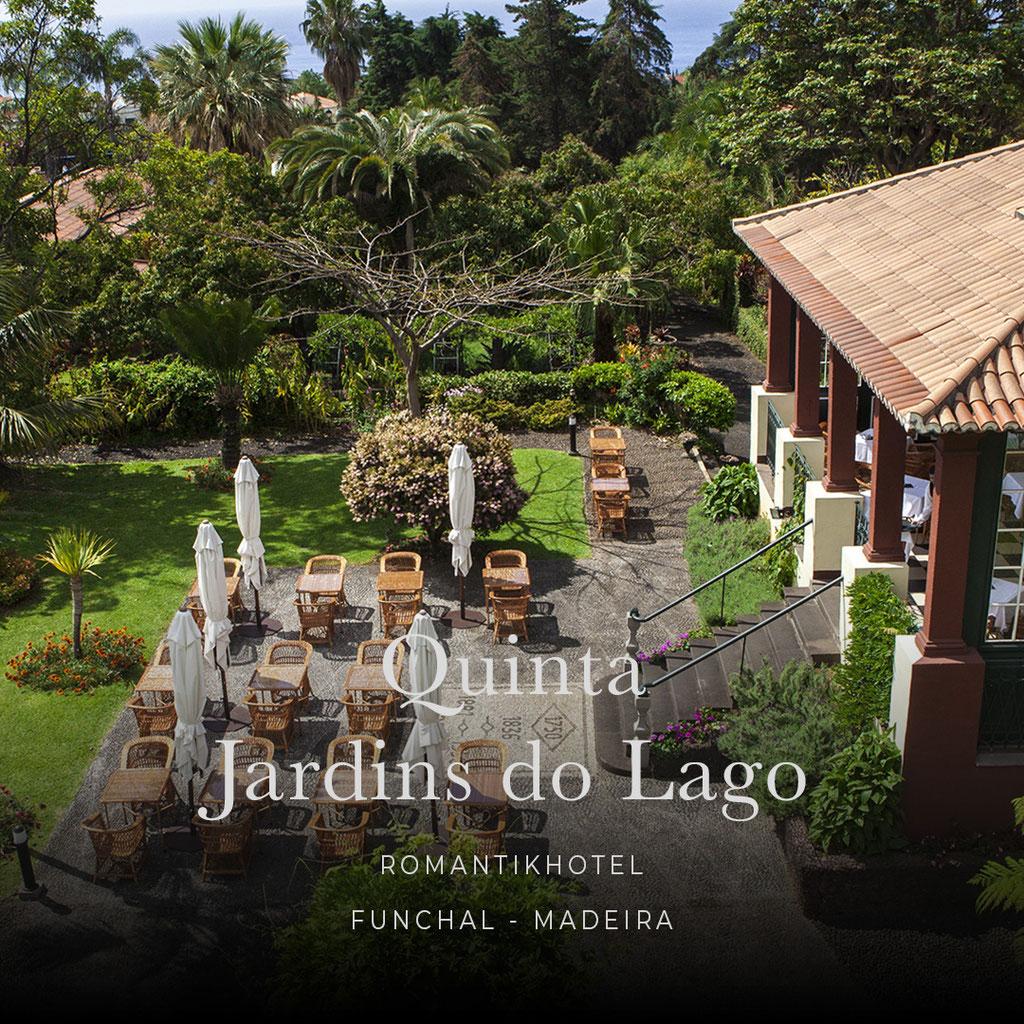 MADEIRA - die sechs coolsten Wellness- und Boutiquehotels der Insel : QUINTA JARDINS DO LAGO , Romantikhotel