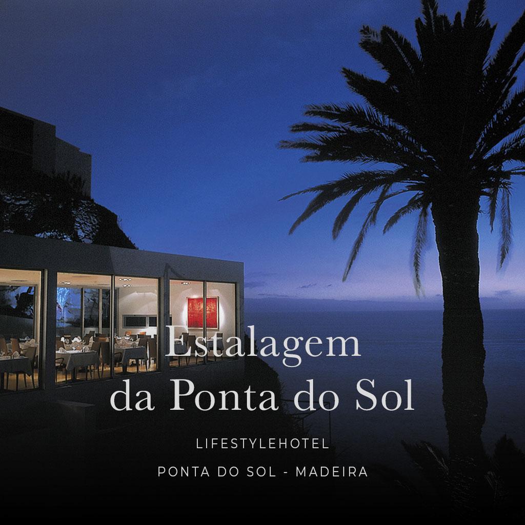 MADEIRA - die sechs coolsten Wellness- und Boutiquehotels der Insel : ESTALAGEM DA PONTA DO SOL Lifestylehotel