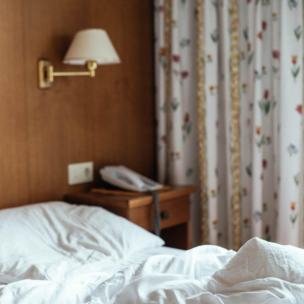Innsbruck Trek, Unterkünfte: Hotel Bergland in Obsteig