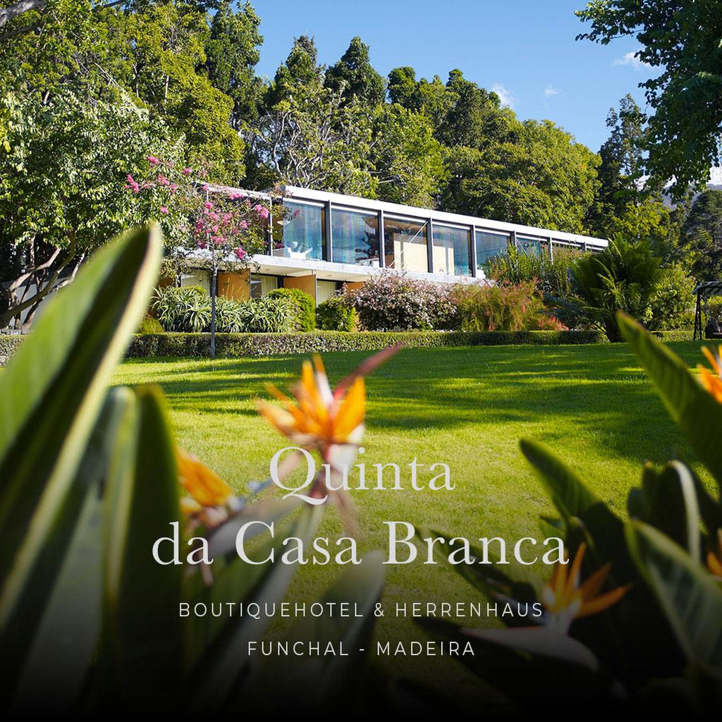 MADEIRA - die sechs coolsten Wellness- und Boutiquehotels der Insel : QUINTA DA CASA BRANCA