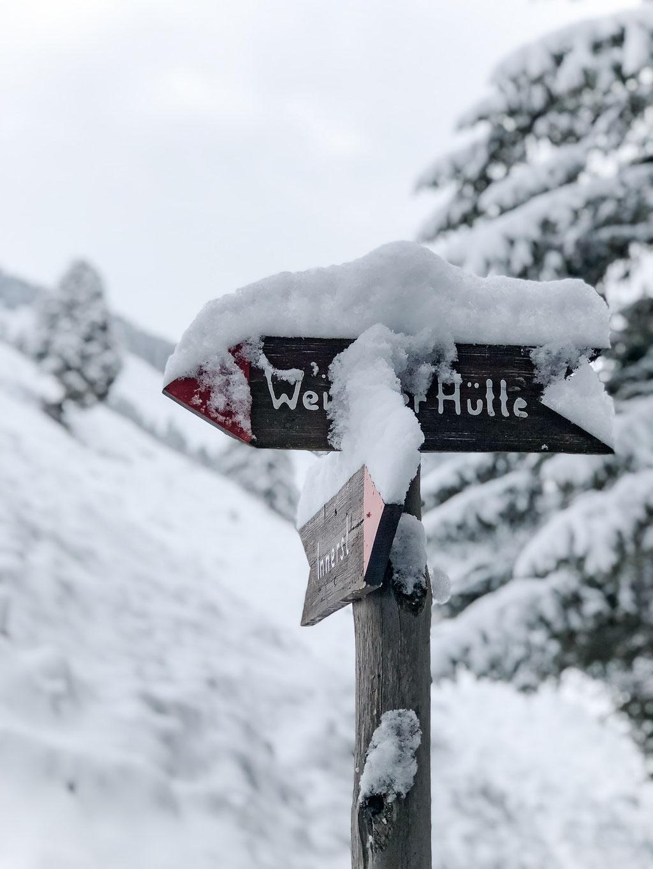 Winter im Nafingtal, Weidener Hütte, Tuxer Alpen