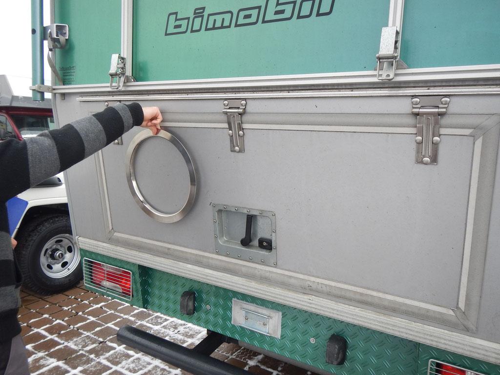 Bullaugen von KCT für Iveco 4x4