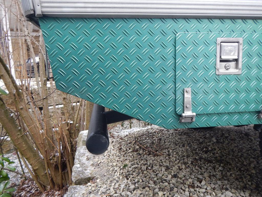 Korrigierter Unterfahrschutz für Iveco 4x4