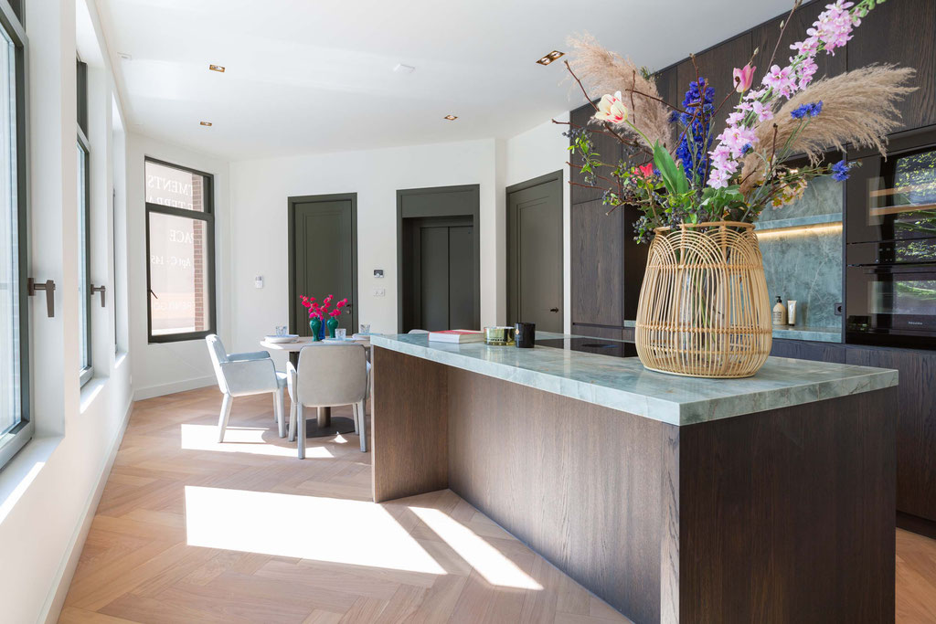 Exclusive granite kitchen