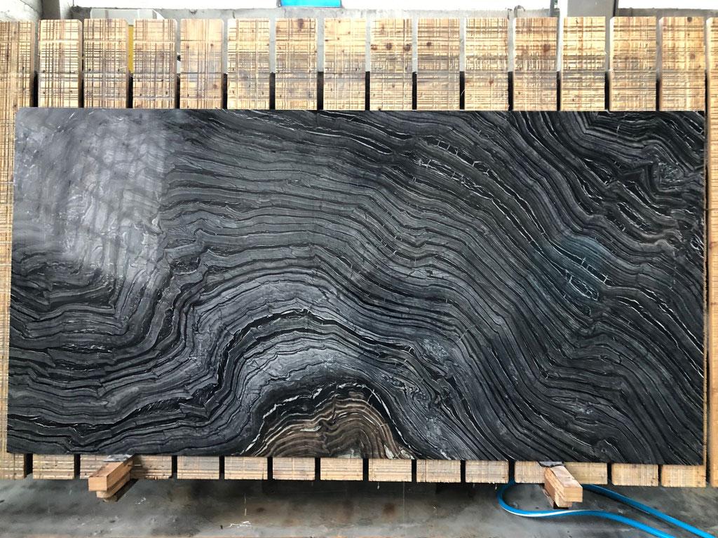 De Silver Wave graniet platen