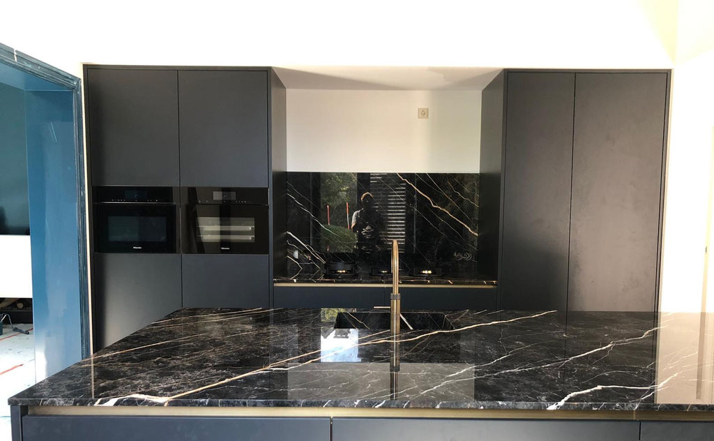 Marble luxury kitchen