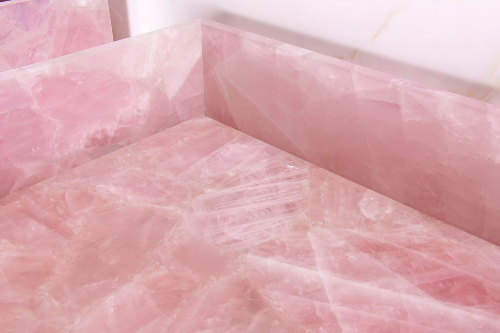 Close up Pink Quartz