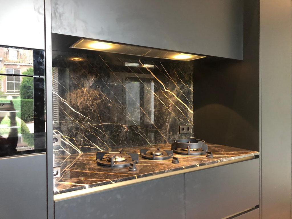 Marmer luxury keuken