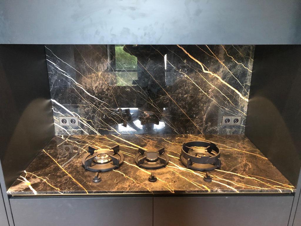 Port laurent marble kitchen