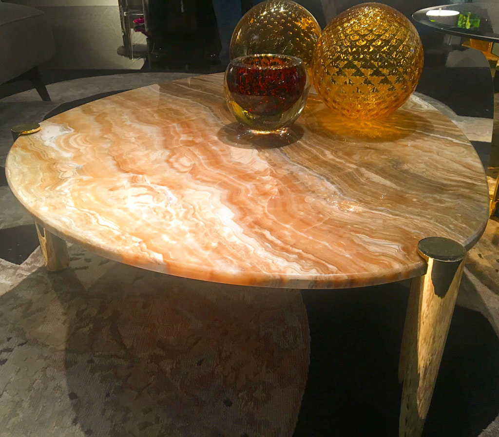 Onyx side table