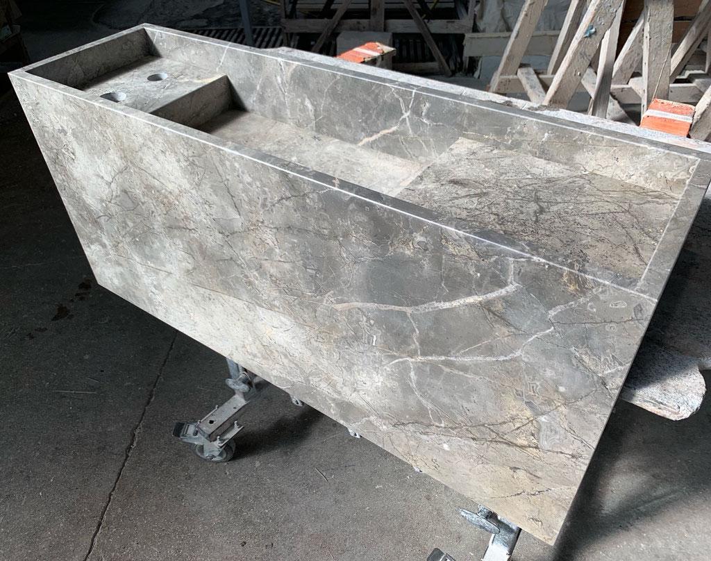 Fior di Bosco marble production photo