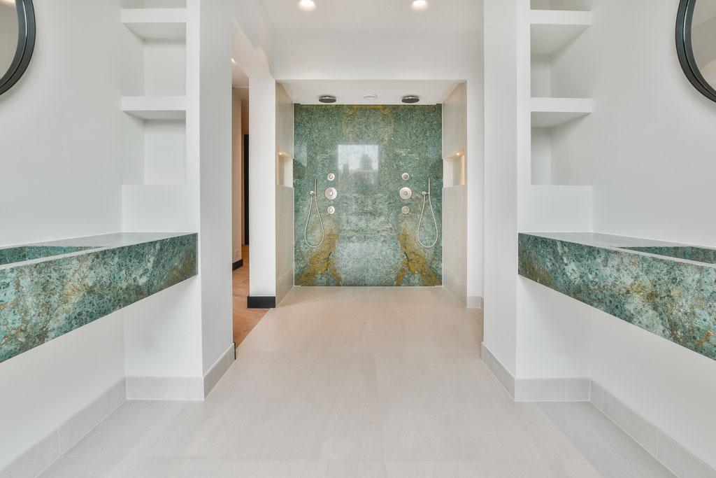 Met recht een luxury badkamer