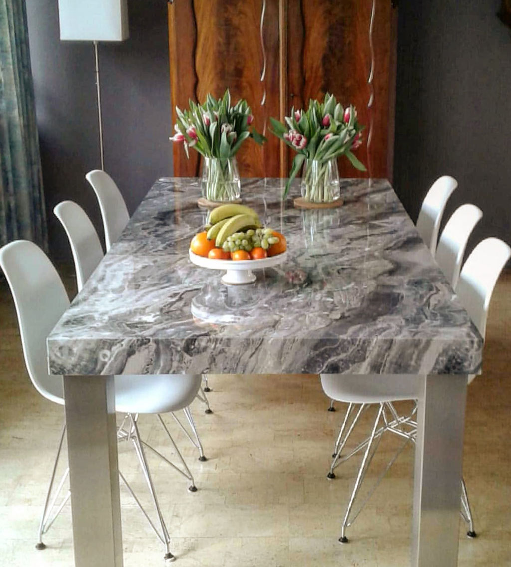 Fior di Bosco Marble dining table