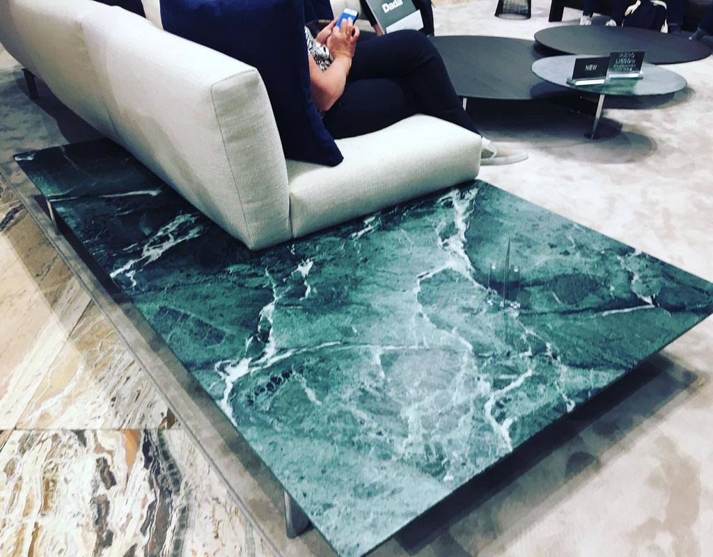 Verde Alpi side table