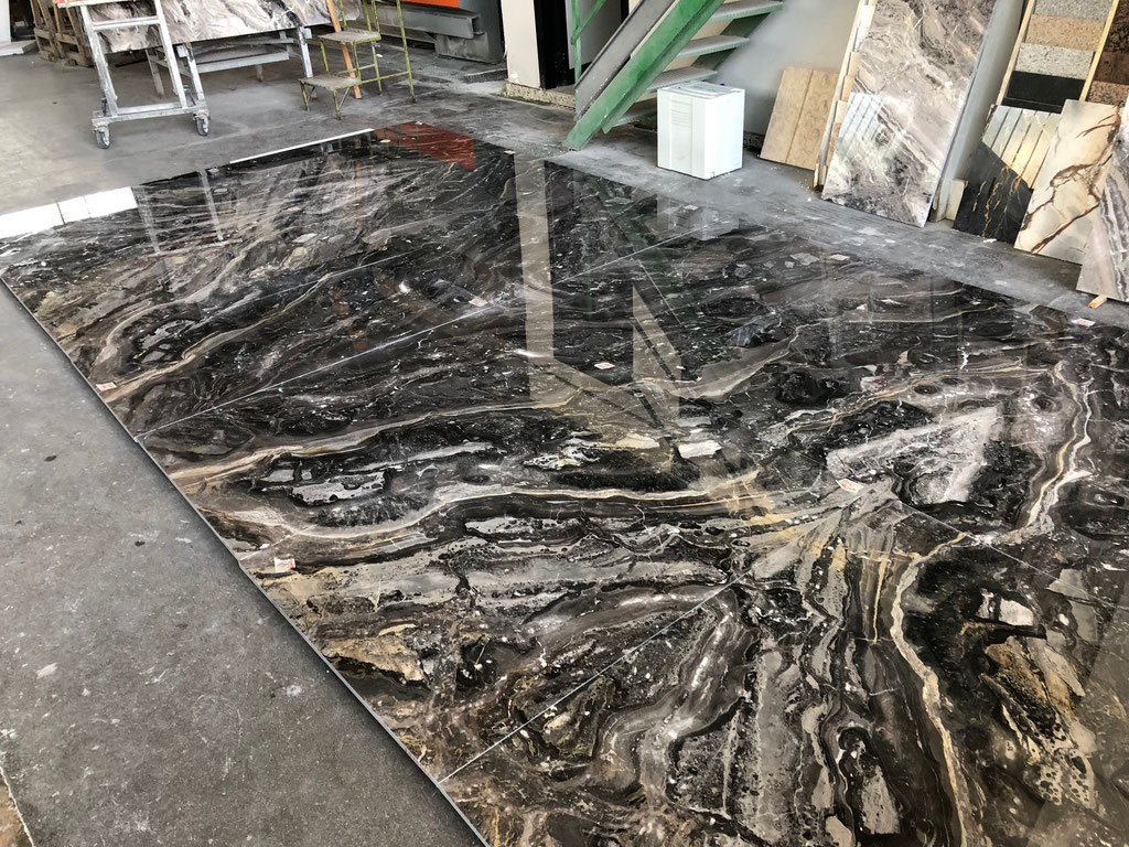 Presenting all marble tiles in production