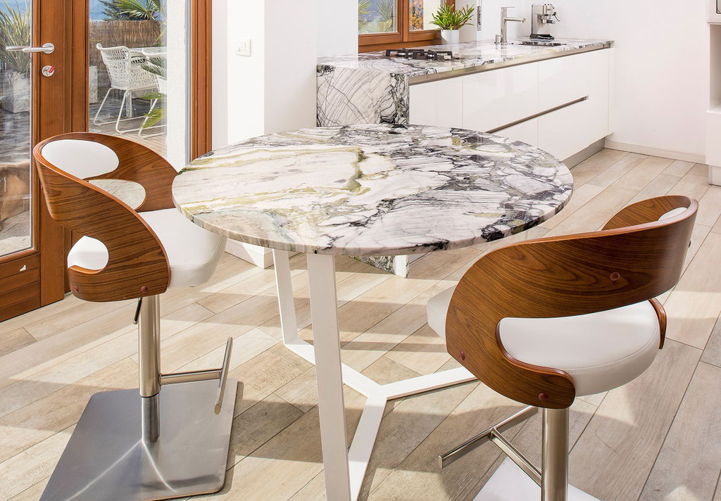 White Beauty marble table
