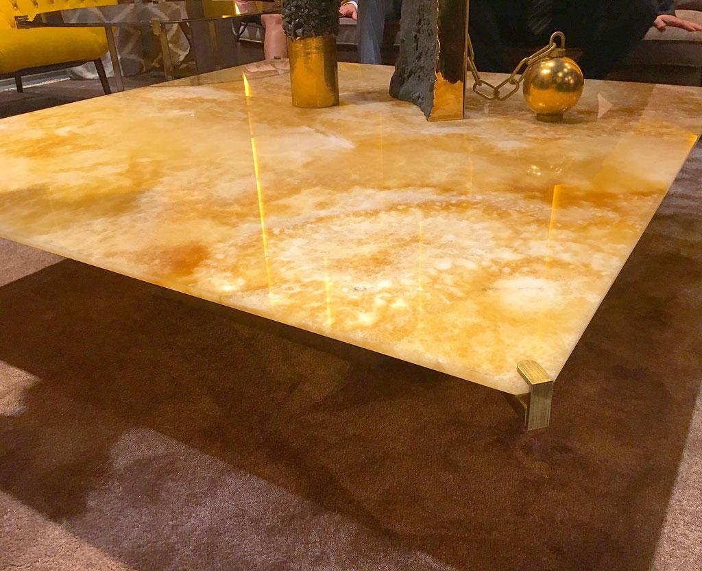 Onyx Miele luxe salontafel