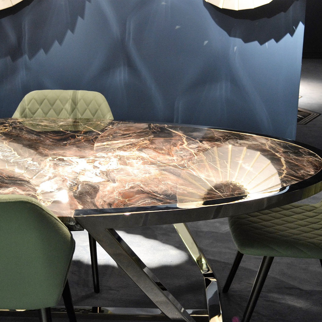 Fusion Quarzite luxury table