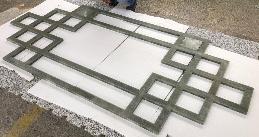Design vloer patroon